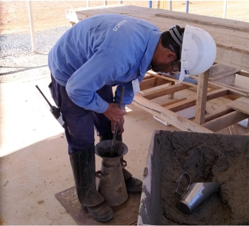 Técnologia do Solo -  Perfuração em Concreto